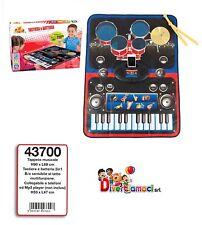 Tappeto Musicale Tastiera e Batteria 2 in 1  DECAR 43700