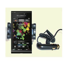 SONY ERICSSON SATIO IN-CAR WINDSCREEN MOUNT & CHARGER