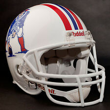 TOM BRADY NEW ENGLAND PATRIOTS Schutt OPO Football Helmet FACEMASK - WHITE