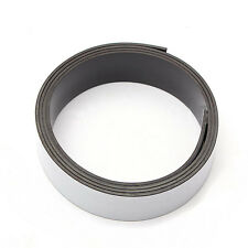 1m Self Adhesive Flexible Soft Rubber Magnetic Tape Magnet DIY Craft Strip 25mm