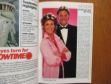 1983 TV Guide(FALL PREVIEW/SCARECROW AND MRS. KING/THE A TEAM/MR. SMITH/WEBSTER)