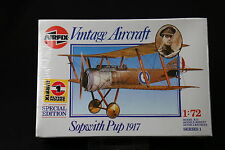 XL158 AIRFIX 172 maquette avion 01082 Sopwith Pup 1917 NB 1988