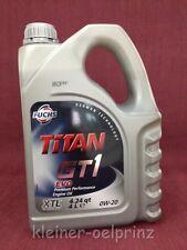 4 Litri FUCHS Titan GT1 EVO 0W-20 olio motore BMW Longlife-14 FE Toyota / Honda