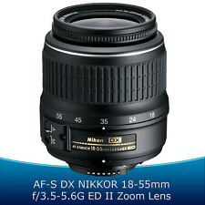 Nikkor AF-S DX 18-55mm f/3.5-5.6G VR II Lens for Nikon D3300 D3200 D5300 D5200