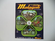 advertising Pubblicità 1974 MALAGUTI CAVALCONE CROSS 125/50/FIFTY/QUATTROTTO