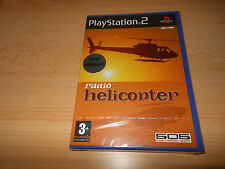 Radio helicopter-PlayStation 2 PS2-new factory sealed