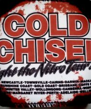 COLD CHISEL Lights of the Nitro Tour 2011 Stubbie holder