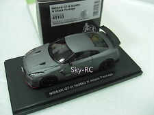 1/43 EBBRO Model #45163 Nissan Skyline GTR R35 NISMO N Attack Package Matt Gray
