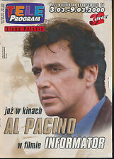 TELE PROGRAM 2000/09 (3/3/2000) AL PACINO  BANDERAS HANKS BARRYMORE (2)