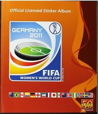 WORLD CUP PANINI 2011 STICKERS ALBUM 100% COMPLETE RARE WOMEN'S WC RARE WOMAN