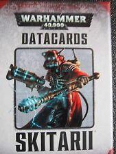 Warhammer 40 000 Datacards Skitarii