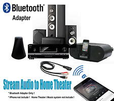 Home Theater Receiver Music System Bluetooth Adapter with RCA Plug BTRCA-U
