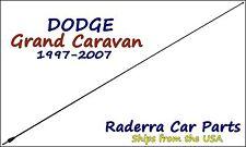 "1997-2007 Dodge Grand Caravan - 32"" Black Stainless AM FM Antenna Mast"