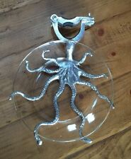 Pottery Barn OCTOPUS UMBRELLA STAND APPETIZER PLATE NEW
