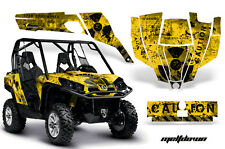 AMR Racing CanAm Commander Graphic Decal Kit UTV Accessories All Years MLTDWN KY