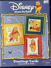 Designer Stitches Counted Cross Stitch Greeting Cards - Disney Winnie The Pooh