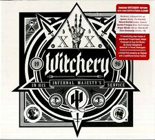 WITCHERY IN HIS INFERNAL MAJESTY'S SERVICE CD NUOVO SIGILLATO