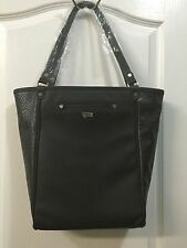 NEW Thirty One 31 Jewell Daring Abbey City Charcoal Snake Purse Tote