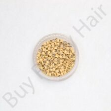 Hair Extension Nano Micro 100% Copper Beads Rings / Tips / Professional Grade