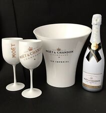 Moet & Chandon Ice Imperial Champagner 0,75l 12% Vol + 2 Moët Becher + Kühler