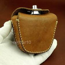 Thick Geninue Leather Handmade Pellets Ammo Storage Bag Pouch hunting outdoor
