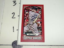 2014 GYPSY QUEEN Daniel NAVA #115 Mini Red SP/99 Boston RED SOX Chico OUTLAWS OF