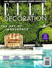 ELLE DECORATION UK #264 August 2014 The Art of Indulgence PIET OUDOLF @New@