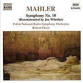 Gustav Mahler - Symphony No. 10 (Reconstructed by Joe Wheeler, 2002)
