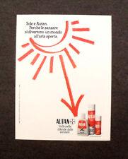 [GCG] M980 - Advertising Pubblicità - 1984 - AUTAN DIFENDE DALLE ZANZARE.