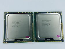 Matched pair of Intel Xeon X5560 2.8 GHz Quad-Core SLBF4 Processor w/Grease