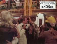 MAX VON SYDOW FAYE DUNAWAY VOYAGE OF THE DAMNED 1976 LOBBY CARD ORIGINAL #1