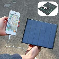 6v 3.5w 580-600MA Solar Panel USB Travel Battery Charger For Mobile Phone UK