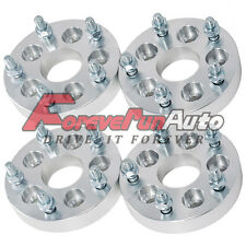 4PC 1'' 5x100 to 5x4.75 Wheel Spacers Adapters 12x1.5 Studs for Chevy Toyota