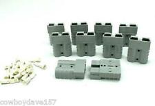 Anderson SB50 Connector Kit Gray  6 Awg 6319 10 pack Includes Domestic Shipping