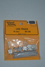 Wheel Works 96-138 Log Truck Metal Model Kits N scale