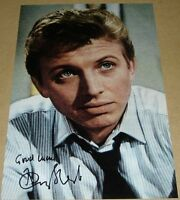 TOMMY STEELE PERSONALLY HAND SIGNED AUTOGRAPH 12X8 PHOTO SINGING THE BLUES