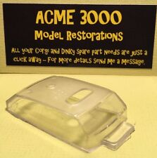 Dinky 282 Austin 1800 Taxi Reproduction Repro - Clear Plastic Window Unit