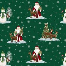 1 metro de longitud media Navidad para recordar Santa Tela de la impresión - 8155-66