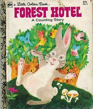 A Little Golden Book: Forest Hotel : A Counting Story - VGC