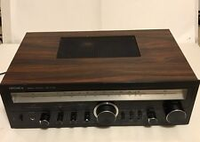 Optonica Stereo receiver SA-5105 Vintage Retro Wood Grain Sharp Electronics