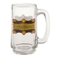 Wizarding World Of Harry Potter Butterbeer 16 Ounce Glass Mug Cup Stein New