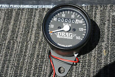 HONDA Mini Speedo BLACK DRAG Speedometer gauges gauge Suzuki Yamaha CB550 CB750
