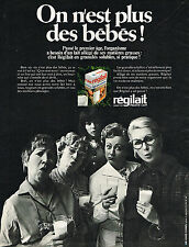 PUBLICITE ADVERTISING 024   1970   REGILAIT   lait granulés solubles 2