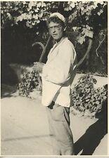 PHOTO FORMAT 16, CM X 12 CM DARRY COWL 27 JUILLET 1957 / LE TRIPORTEUR