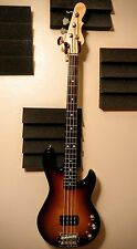 American G&L L-1500 Bass Guitar Sunburst 4 String USA Early 2000's Model w/ Case