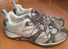 Womens 11 MERRELL SIREN SPORT Elephant Gray & Pink Vibram Hiking Trail Shoes