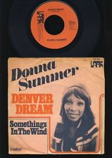 Donna Summer - Denver Dream - Somethings in the Wind - 7 Inch Vinyl - HOLLAND