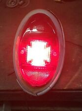 VW AirCooled Beetle Tail Light Diffusers 62-67    Prt# VRD197 (Iron Cross)