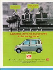 AUTO998-PUBBLICITA'/ADVERTISING-1998- DAIHATSU MOVE