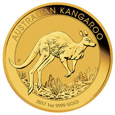2017-P Australia $100 1 oz. Gold Kangaroo Coin (Original Mint Cap) SKU43408